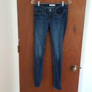 Hollister Long Inseam Skinny Jeans